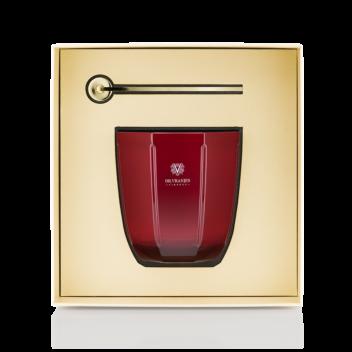 Caja Regalo Vela Rosso Nobile con Apagavelas