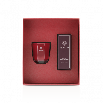 Rosso Nobile Gift Box with 80 g Candle + 50 ml Hand Cream