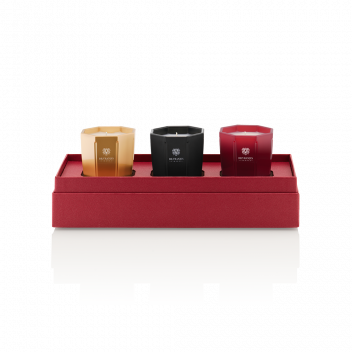 80 g Candle Trio Gift Box - Rosso Nobile, Ambra and Melograno